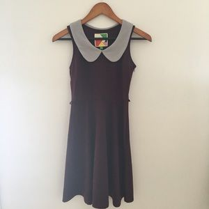 Modcloth vintage style collared mini dress